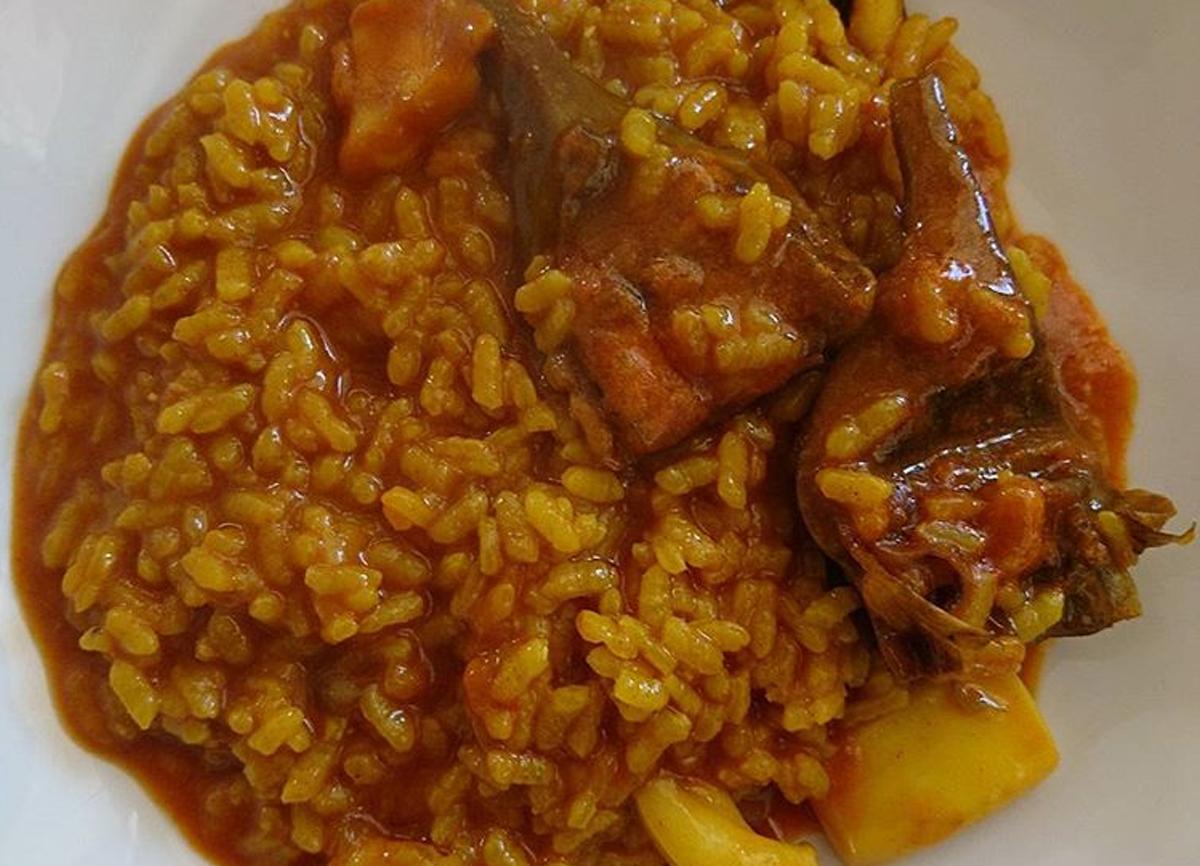 arroz con sepia y alcachofas - el sequer de tonica